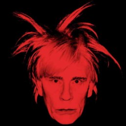 Andy Warhol / Self Portrait with Fright Wig (1986)
