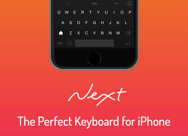 next-keyboard-para-iphone