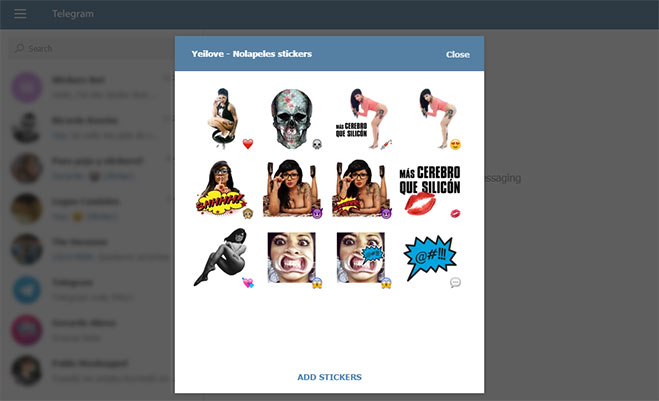 yeilove-stickers