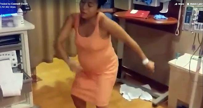 embarazada-bailando-tootsie-roll