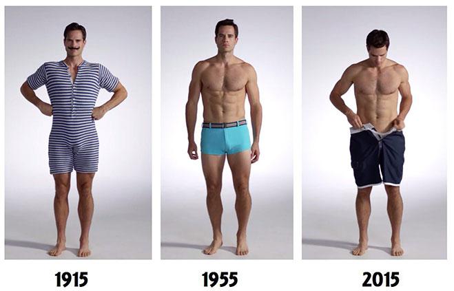 Evolución del traje