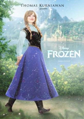 Emma-Stone como Anna
