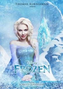 Scarlett Johansson como Elsa