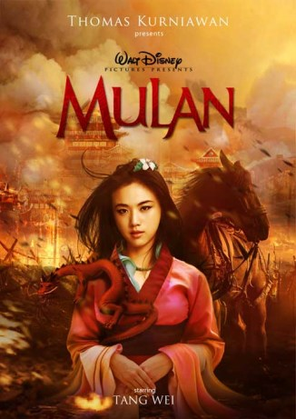 Tang Wei como Mulán