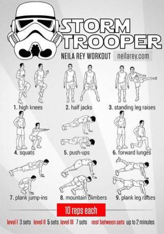 Rutina Storm Trooper