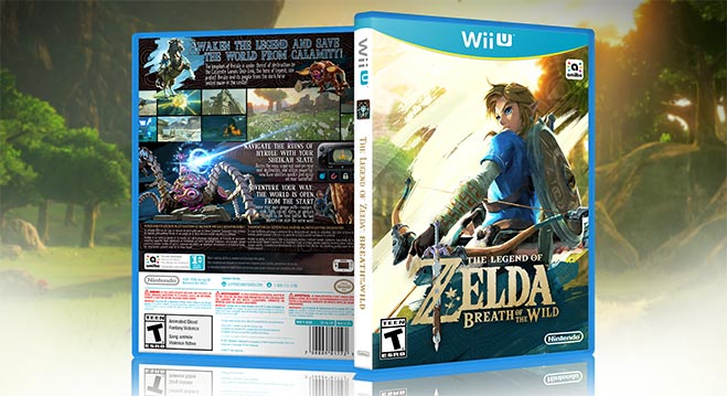 Legend Of Zelda Breath Of The Wild Sera El Ultimo Juego De Nintendo