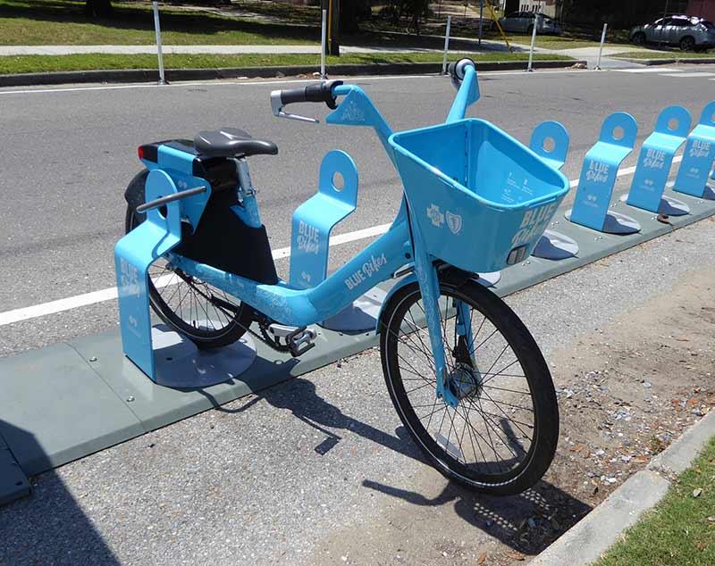 Blue Bikes Sad