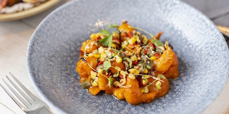 Chili Shrimp Étouffée Smoked Meat Smoked Seafood Review NOLA Smokehouse and Bar