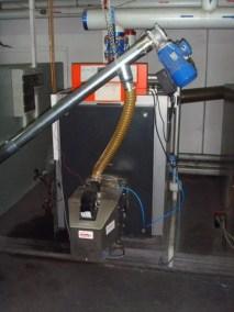 modernizacja kota viessmann 250 kw z zamontowanym palnikiem pellas 260kw