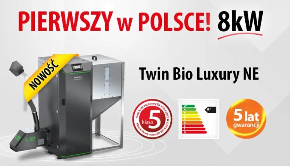 Twin bio luxuy 8 kw