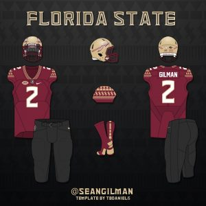 5d47e6456 Here s your all garnet uniform combo. Interim head coach Odell Haggins let the  team wear these in their bowl game against Southern Miss last season.