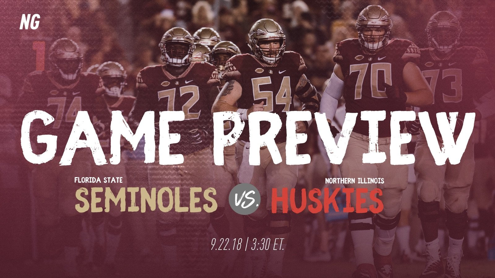 Florida State vs Northern Illinois Game Preview  NoleGameday