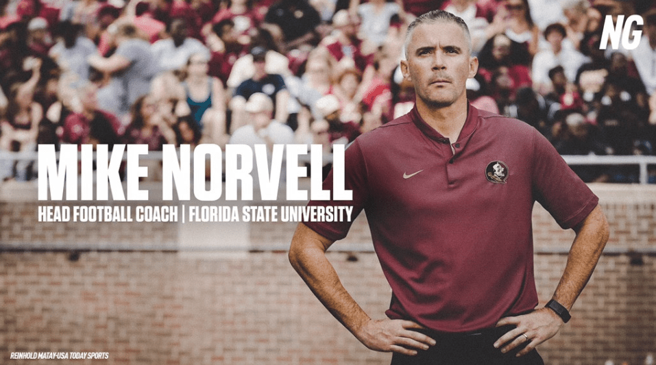 Florida State Names Mike Norvell Head Coach Nolegameday