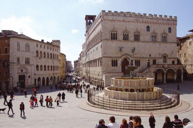 Fontana Maggiore a Perugia