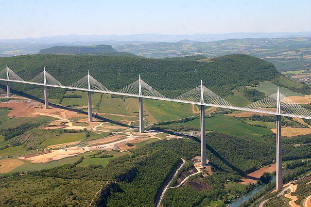 I ponti più alti del mondo: il viadotto di Millau, in Francia