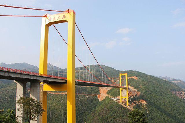 i ponti più alti del mondo: il puli bridge in cina