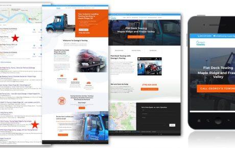 website design maple ridge