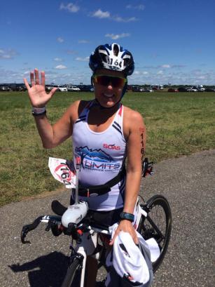 janine bike challenge