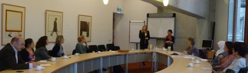 Werkzoekende vrouwen lobbyen bij Utrechtse wethouder