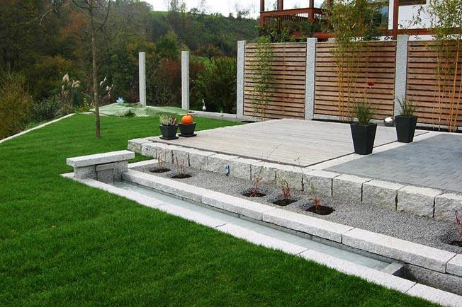 sitzplatz im garten sichtschutz an sitzplatz gesch tzte ecke im, Gartenarbeit ideen