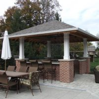Outdoor Kitchen Canopy & Outdoor Kitchen Island Options