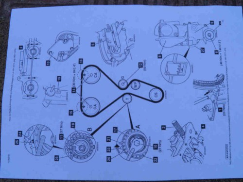 small resolution of 2 preparatory works timing belt replacement diy mechanics 2 preparatory works diagram for 390 engine