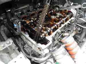 Partial Timing Chain Dismantling For Head Gasket
