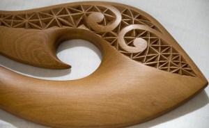 Maori Carving Detail