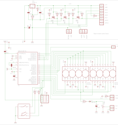diagram of radio audio board [ 1425 x 1446 Pixel ]