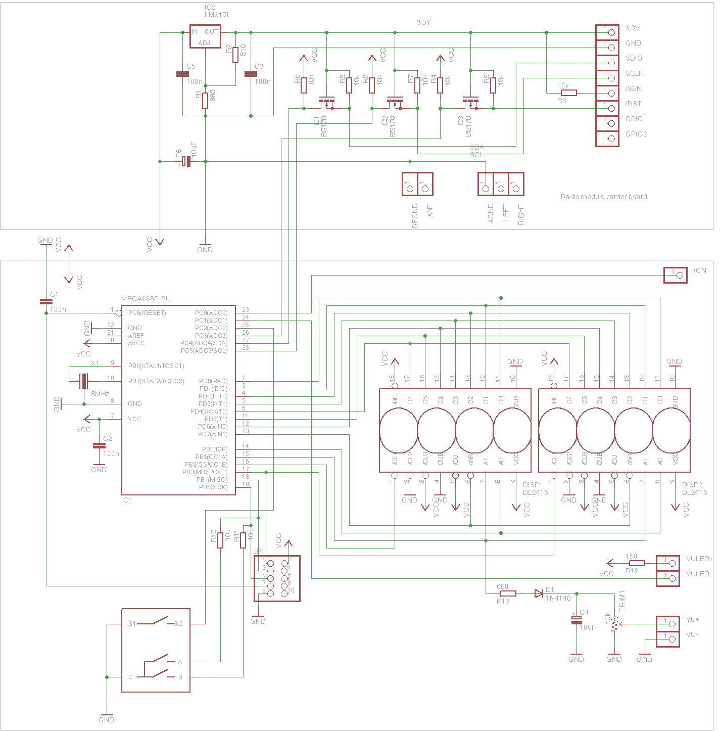 hight resolution of diagram of radio audio board