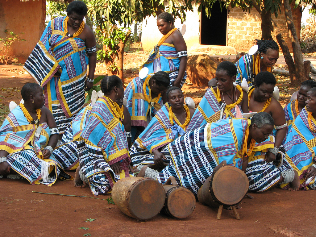 the domba traditional dance