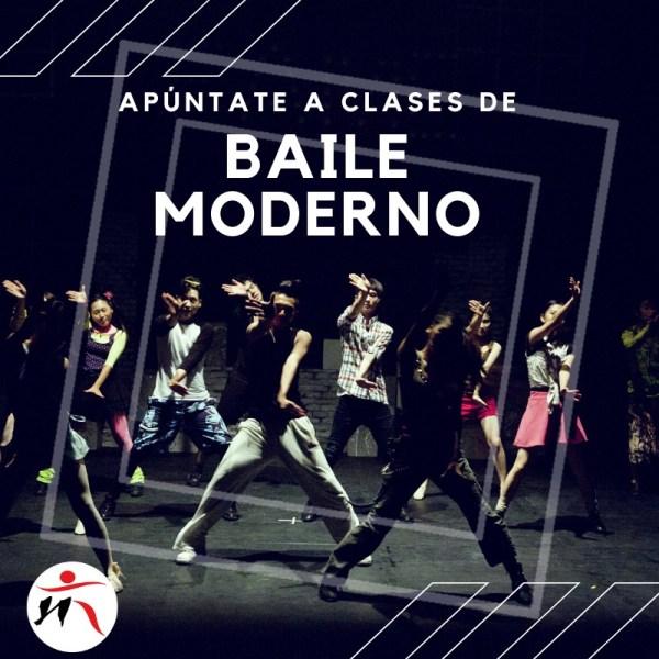 Clases de baile moderno en Toledo