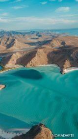 playa-balandra-desde-arriba-5 baja california sur playas de mexico