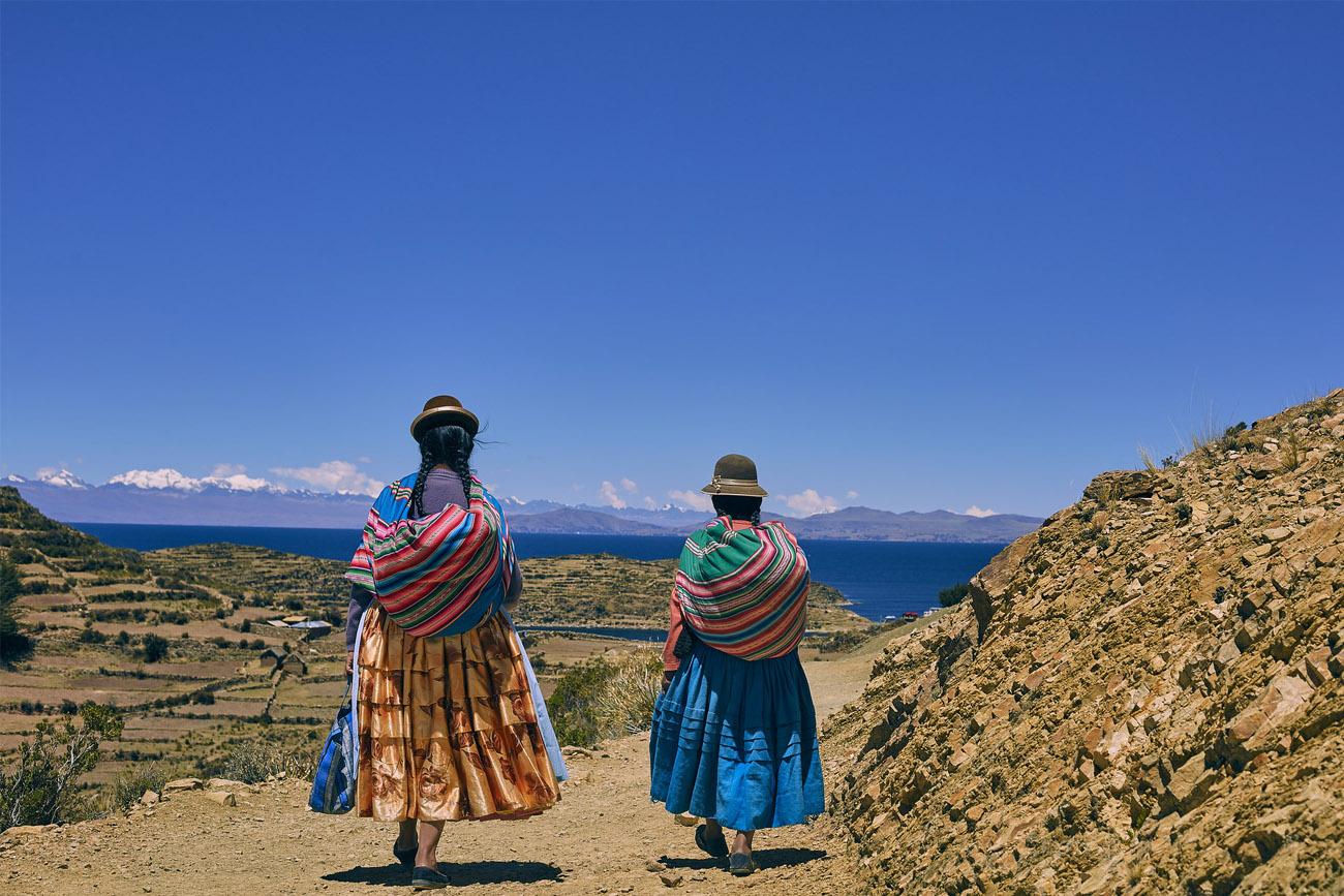 bolivia sudamerica isla titikaka
