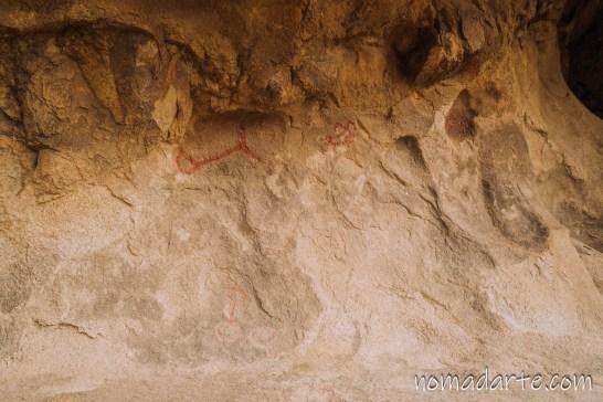 pinturas rupestres en joshua tree