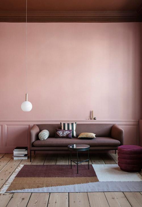 Color Salmn en paredes Te apuntas  Nomadbubbles