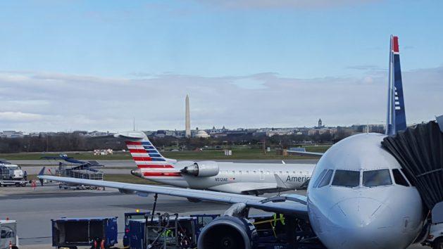 Washington Reagan airport view