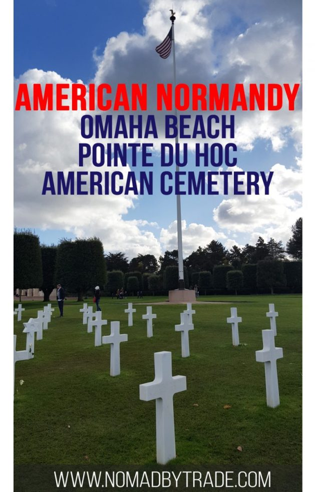 Explore the best of the American sector in Normandy. Don't miss the incredibly moving American Cemetery, walking along Omaha Beach, or visiting the ruins of German fortifications at Pointe du Hoc. #Normandy | D-Day Beaches | Things to do in Normandy