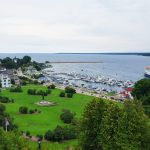 Mackinac Island from Fort Mackinac