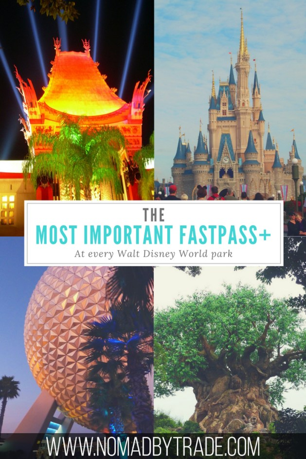 Make sure that you snag the most important Disney World FastPasses with this park-by-park guide to what you should be booking.