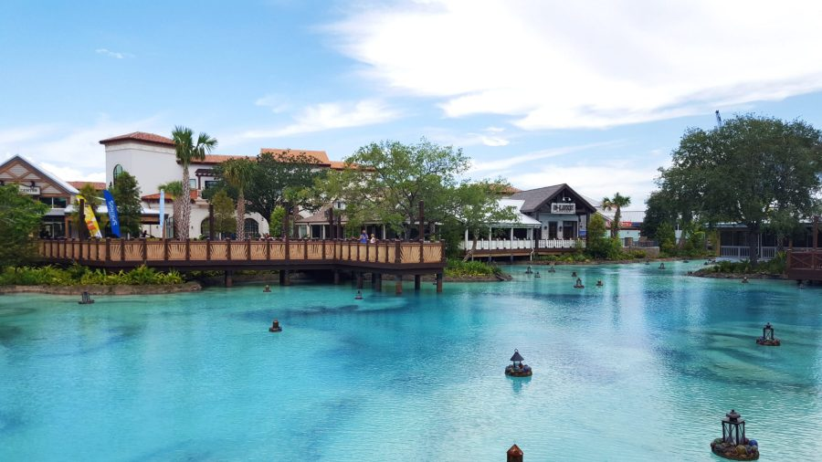 Disney Springs is a great spot for adults at Disney World.