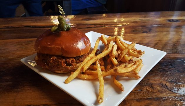 Food at City Beer Hall - Albany Dining Guide