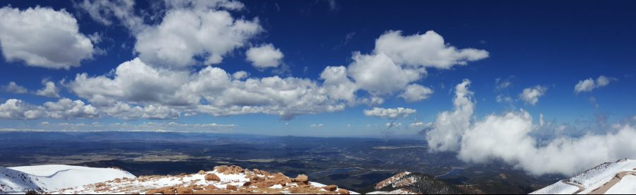 Tips for and photos of driving Pikes Peak