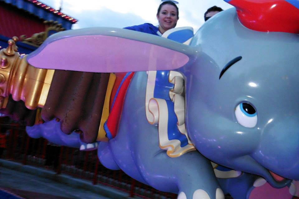 Dumbo at the Magic Kingdom