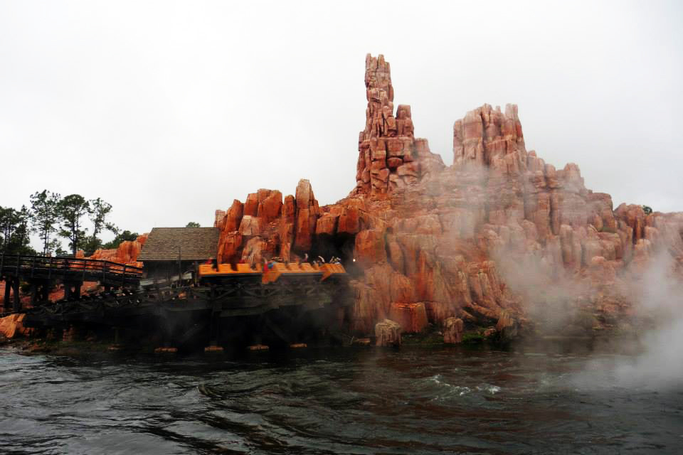 Big Thunder Mountain at the Magic Kingdom