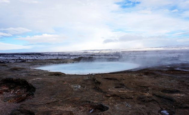 Geysir in Iceland's Golden Circle