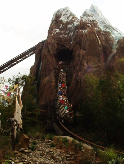 Expedition: Everest at Disney's Animal Kingdom is a great ride for adults
