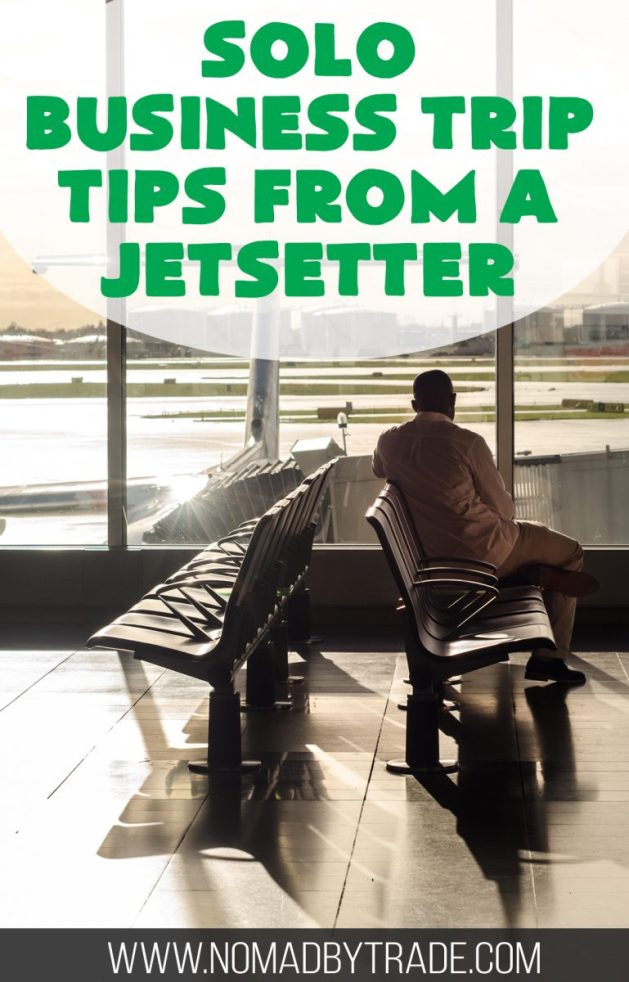 Tips from a frequent business traveler for surviving solo business trips. | #BusinessTravel | #SoloTravel | #BusinessTrip