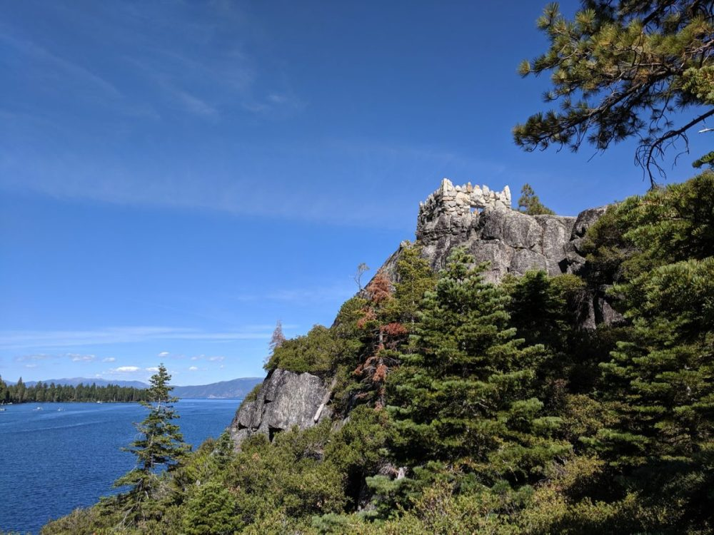 Fannette Island is the best kayaking in Lake Tahoe