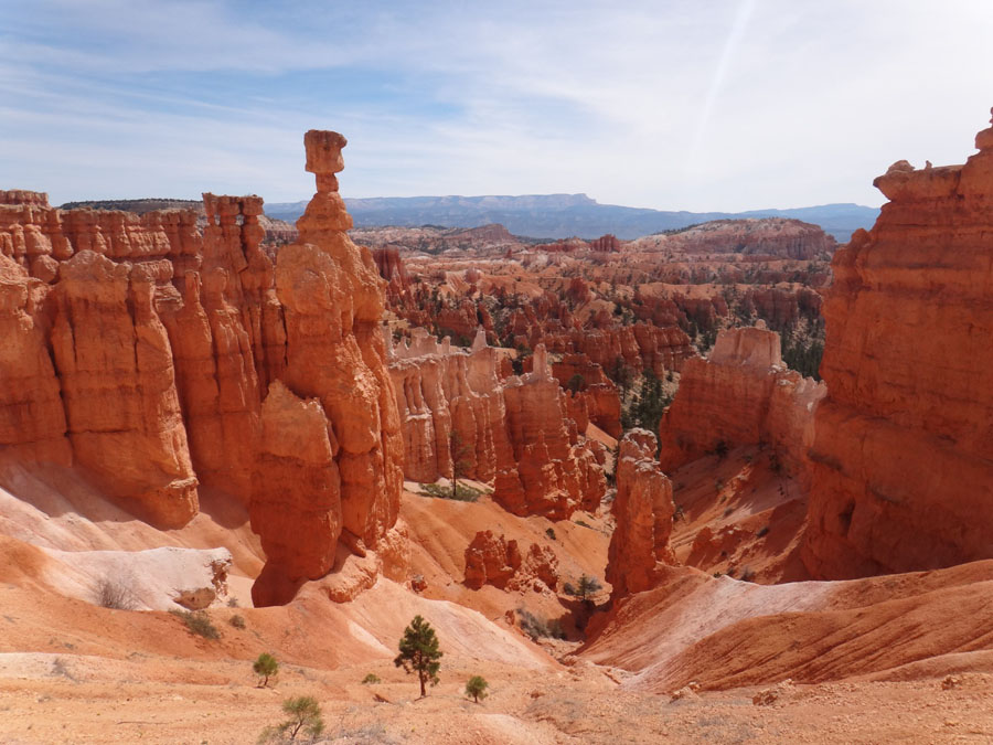 Thor's Hammer rock formation in Bryce Canyon National Park